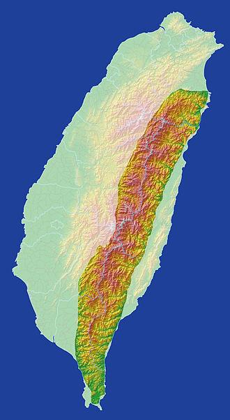 Central Mountain Range - Image: Taiwan Central Mountain Range