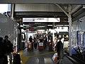 Takayama Station ticket gate 2015-03-26.jpg