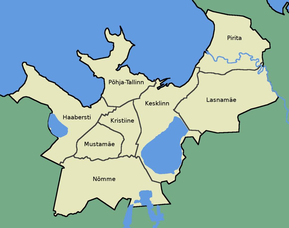 Tallinna linnaosad