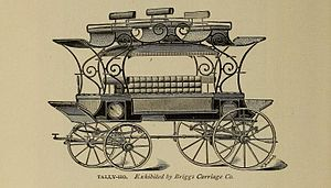 Briggs Carriage Company - Image: Tally Ho by Briggs Carriage Co Amesbury Massachusetts (cropped)