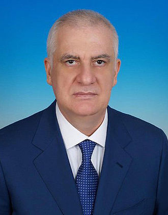 Head of the Republic of North Ossetia-Alania - Image: Tamerlan Aguzarov, 2015