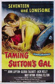 Malsovaĝigante la Gal-poster.jpg de Sutton