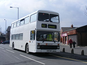 Tanat Valley Coaches - Northern Counties Palatine bodied Leyland Olympian in April 2008