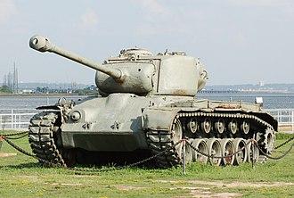 M26 Pershing - A Pershing tank