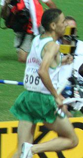 Tarek Boukensa Algerian runner