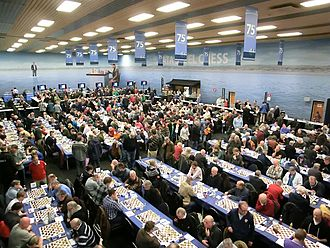 Tata Steel Chess Tournament - Tata Steel Tournament 2013, playing hall