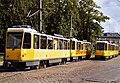 Tatra Trams at Schmoeckwitz 2003.jpg