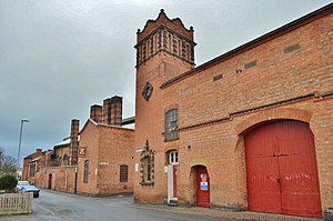 John Taylor & Co - Taylor's bell foundry in Freehold Street, Loughborough, in late 2011