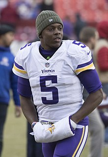 Teddy Bridgewater American football quarterback