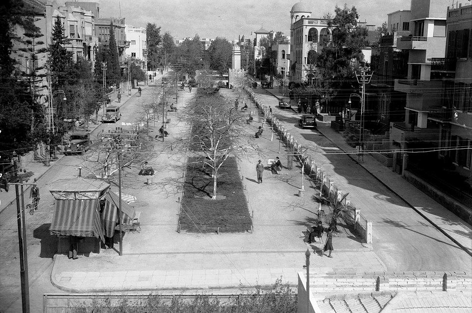 Tel Aviv. Rothchild Ave 1940-46