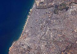 Tel Aviv from space.JPG