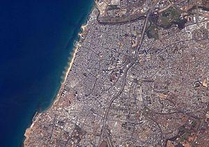 English: Tel Aviv, Israel's largest metropolit...
