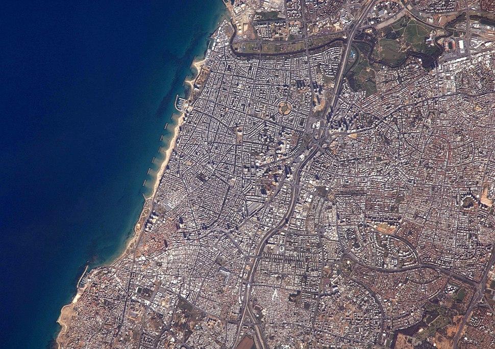 Tel Aviv from space
