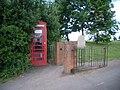 Telephone kiosk at Stoke St. Gregory - geograph.org.uk - 882644.jpg