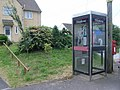 Telephone kiosk at junction of Worthy Lane and North End, Creech St. Michael - geograph.org.uk - 885438.jpg