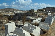 Temple Apollo Athenians Delos 130038