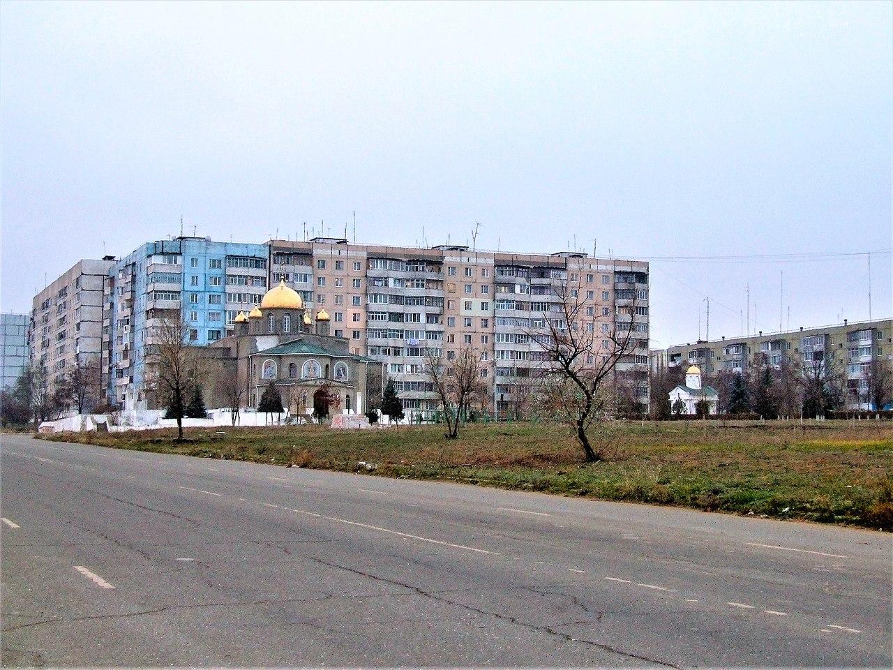 Северная сторона города