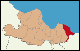 Terme District Location in Samsun Province.png