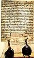Testament d'Hugues de Talaru, chanoine de Lyon, 1201.jpg