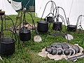 Tewkesbury Medieval Festival 2009 - Pots and pans.jpg