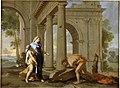 Thésée retrouve l'épée de son père - Poussin - c1638.jpg