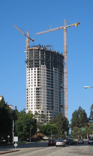 The Century luxury high rise condominium build...