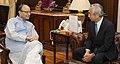 The Ambassador of Japan to India, Mr. Kenji Hiramatsu calling on the Union Minister for Finance and Corporate Affairs, Shri Arun Jaitley, in New Delhi on September 19, 2016.jpg