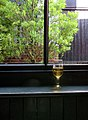 The Anchor Tap, East Street, Horsham; window with cider glass 01.jpg