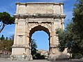 The Arch of Titus, Upper Via Sacra, Rome (31605340150).jpg