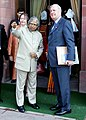 The Canadian Prime Minister, Mr. Paul Martin called on the President Dr. A.P.J. Abdul Kalam in New Delhi on January 18, 2005.jpg