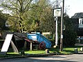 The Chestnut Tree sign and wagon - geograph.org.uk - 1026637.jpg
