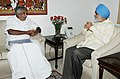 The Chief Minister of Kerala, Shri Oommen Chandy meeting the Deputy Chairman, Planning Commission, Shri Montek Singh Ahluwalia for finalizing plan size for 2012-13 for the State, in New Delhi on April 20, 2012.jpg