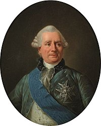 Porträt des französischen Außenministers Vergennes