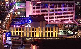 The Cromwell Las Vegas - The Cromwell Las Vegas (foreground) in 2014