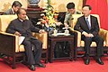 The Defence Minister, Shri A. K. Antony meeting the Chinese State Councillor, Mr. Yang Jiechi, in Beijing on July 06, 2013.jpg