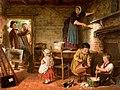 The Dismayed Artist. 1866. Frederick Daniel Hardy.jpg