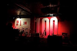 100 Club - The 100 Club stage