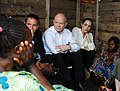 The Foreign Secretary and Angelina Jolie visit Nzolo camp (8592269988).jpg
