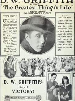 The Greatest Thing in Life D. W. Griffith 1918.png