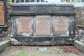 John Hope (botanist) - The Hope grave, Greyfriars Kirkyard, Edinburgh