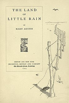The Land of Little Rain title page.jpg