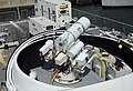 The Laser Weapon System (LaWS) is temporarily installed aboard USS Dewey. (8635970792).jpg