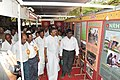 The Member of Parliament, Shri S.N.V. Chitthan visiting the DAVP exhibition at the Bharat Nirman Public Information Campaign, at Palani, Dindigul district, in Tamil Nadu on September 02, 2010.jpg