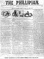 The Phillipian newspaper front page 1857.jpg