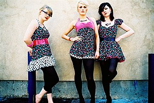 The Pipettes - The We Are the Pipettes-era Pipettes at South by Southwest in 2007