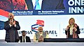 The Prime Minister, Shri Narendra Modi and the Prime Minister of Israel, Mr. Benjamin Netanyahu at iCreate Center, at Deo Dholera Village, in Ahmedabad, Gujarat on January 17, 2018 (1).jpg
