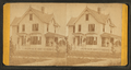 "The Rectory. (Showing a group of adults and children on the porch of ""Rectory""), by J. A. Palmer.png"