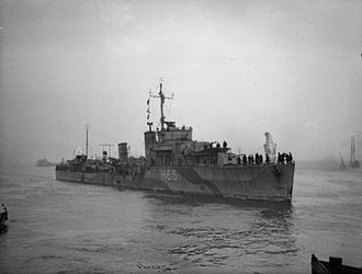 HMS Boadicea (H65) - Image: The Royal Navy during the Second World War A15522