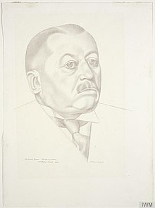 The Rt. Hon Ernest Brown Minister of Labour and National Service, 1939-1940 (Art.IWM ART LD 153).jpg
