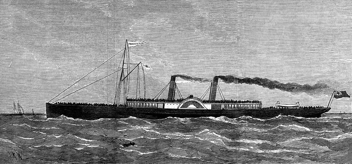 Ss Princess Alice 1865 Wikipedia